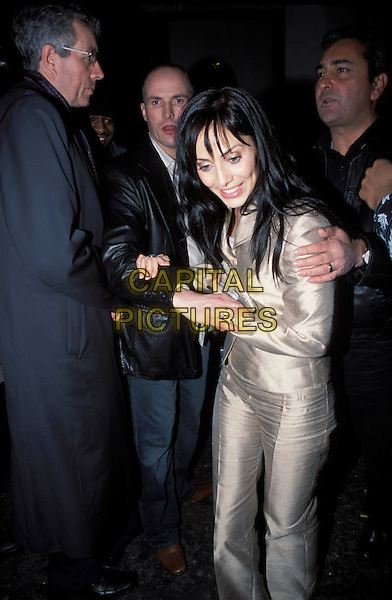 NATALIE IMBRUGLIA.leaves chinawhite nightclub protected by bodyguards after man tries to grab her.Ref: AH.www.capitalpictures.com.sales@capitalpictures.com.©Capital Pictures.