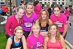 Christine Hegarty, Kay Cronin, Caroline Coaklin. Back row: Anne O'Sullivan, Noranne Downey, Colette O'Leary and Catriona Doolan Killarney at the Killarney Ladies mini marathon on Saturday