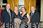 Pictured at the Lee Strand Social at the Ballygarry House Hotel on Saturday night, from left: Jim and Sheila Finucane with Lucy and Mark Godley.