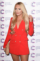 Amber Turner<br /> arriving at James Ingham&rsquo;s Jog On To Cancer, in aid of Cancer Research UK at The Roof Gardens in Kensington, London. <br /> <br /> <br /> &copy;Ash Knotek  D3248  12/04/2017