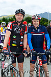 Kieran Carr and Joe Ahern  in the Ring of the Reeks cycle in Beaufort on Saturday