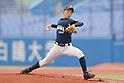 Ikuya Kikuchi, AUGUST 4, 2015 - Baseball : All Japan Little-Senior Baseball Championship final match between Omiya senior 7-3 Edogawa Chuo senior at Jingu stadium in Tokyo, Japan. (Photo by Yusuke Nakanishi/AFLO SPORT)