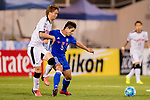Kou Itakura (l) of Kawasaki Frontale (JPN) fights for the ball with Diego Eli Moreira of Eastern SC (HKG) during the AFC Champions League 2017 Group G match between Eastern SC (HKG) and Kawasaki Frontale (JPN) at the Mongkok Stadium on 01 March 2017 in Hong Kong, China. Photo by Chris Wong / Power Sport Images