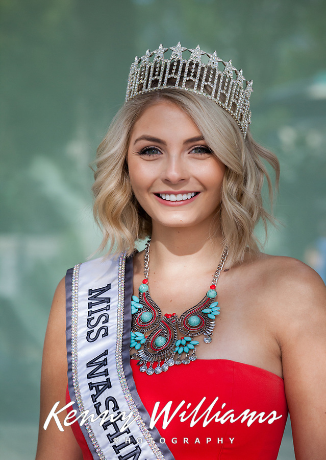Miss Washington 2017, Renton Multicultural Festival, WA, USA.