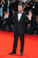 Massimliano Gallo attends the red carpet for the premiere of the movie 'Per Amor Vostro' during the 72nd Venice Film Festival at the Palazzo Del Cinema in Venice, Italy, September 11, 2015.<br /> UPDATE IMAGES PRESS/Stephen Richie