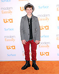 Westwood , California - October 28 :  Nolan Gould  arrives at The USA Network's Modern Family Fan Appreciation Day held at Westwood Village Theatres in Westwood, California on October 28,2012                                                                               © 2013 Hollywood Press Agency