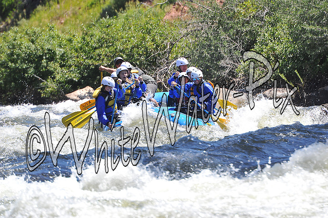 Nova Guides crashing Interstate, Dead Cow & Rodeo Rapids while running the Lower Eagle River from Wolcott to Eagle on the morning of July 2, 2014.