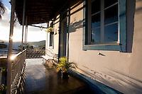 Itapecerica_MG, Brasil...Varanda de uma casa em Itapecerica...The house balcony in Itapecerica...Foto: LEO DRUMOND / NITRO