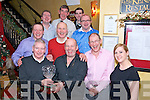 Murphy's Golf Society Match Play Presentation: Mike Casey, Winner of the Match Play, was presented with his prize by Billy O'Callaghan (Sponsor) in Lord Kenmare's Restaurant Killarney last Saturday night. Pictured with Sean Murphy, Aga Chabrowska, Paul Corridan, Joe Gaffey, Podge O'Brien, Jonathan Casey, Con O'Mahoney and Jerry Myers, all from Killarney.