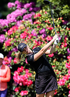 Amelia Garvey during the New Zealand Amateur Golf Championship at Russley Golf Course, Christchurch, New Zealand. Saturday 4 November 2017. Photo: Simon Watts/www.bwmedia.co.nz