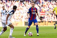 FC Barcelona's Ivan Rakitic during the La Liga match between Futbol Club Barcelona and Deportivo de la Coruna at Camp Nou Stadium Spain. October 15, 2016. (ALTERPHOTOS/Rodrigo Jimenez) NORTEPHOTO.COM