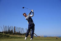 Jake Bolton during Round Two of the West of England Championship 2016, at Royal North Devon Golf Club, Westward Ho!, Devon  23/04/2016. Picture: Golffile | David Lloyd<br /> <br /> All photos usage must carry mandatory copyright credit (&copy; Golffile | David Lloyd)