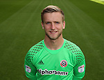 George Long of Sheffield Utd during the 2016/17 Photo call at Bramall Lane Stadium, Sheffield. Picture date: September 8th, 2016. Pic Simon Bellis/Sportimage