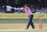 Stevie Eskinazi in batting action for Middlesex during Essex Eagles vs Middlesex, Vitality Blast T20 Cricket at The Cloudfm County Ground on 6th July 2018