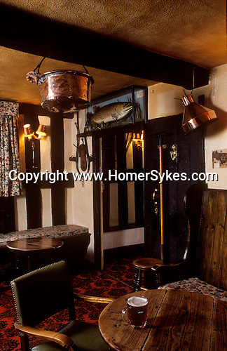 The Village Pub. Rhydspence Inn, Whitney on Wye, Hereford and Worcester, England