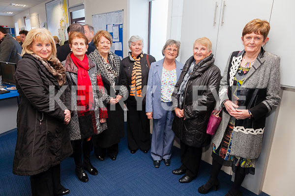 Pictured at the Valentia Radio Station on Thursday to celebrate 100 years of the Station's operations were l-r; Aedín Scott, Pauline Geoghegan, Dererca Devane, Nora Fahy, Maureen Drake, Bridie Egan & Pat Lyne.