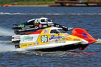 Jeff Zeller, (#96) and Milo Degugas, (#83)   (SST-45 class)
