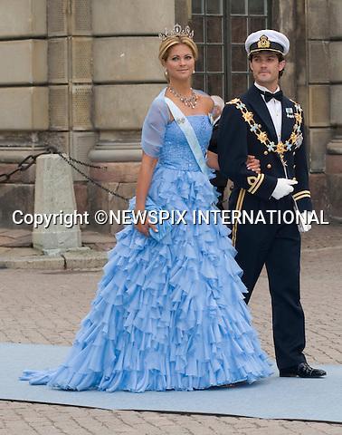 "PRINCESS MADELEINE AND PRINCE CARL PHILIP.PRINCESS VICTORIA AND DANIEL WESTLING WEDDING.Royal Guests at the wedding  Stockholm_19/062010.Mandatory Credit Photo: ©DIAS-NEWSPIX INTERNATIONAL..**ALL FEES PAYABLE TO: ""NEWSPIX INTERNATIONAL""**..IMMEDIATE CONFIRMATION OF USAGE REQUIRED:.Newspix International, 31 Chinnery Hill, Bishop's Stortford, ENGLAND CM23 3PS.Tel:+441279 324672  ; Fax: +441279656877.Mobile:  07775681153.e-mail: info@newspixinternational.co.uk"