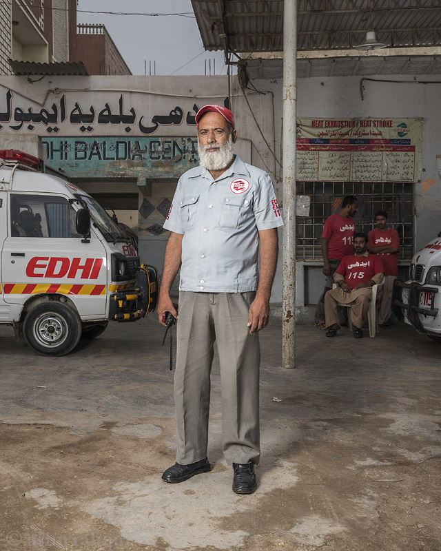 Farooq Baloch, Edhi Baldia Center Incharge