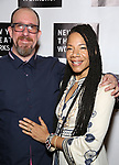 Aaron Whitby and Martha Redbone attends New York Theatre Workshop's 2017 Spring Gala at the Edison Ballroom on May 15, 2017 in New York City.