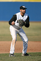 April 5, 2009:  /3b/ Bham Shivam (25) of the University of Buffalo Bulls during a game at Amherst Audubon Field in Buffalo, NY.  Photo by:  Mike Janes/Four Seam Images