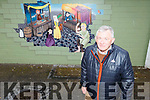 Joe Moynihan, Chairman of Tidy Tralee Together standing by the new mural in the Abbey carpark on Tuesday.
