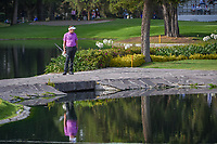 Ian Poulter (GBR) looks back down the fairway as he crosses the bridge on 6 during round 2 of the World Golf Championships, Mexico, Club De Golf Chapultepec, Mexico City, Mexico. 2/22/2019.<br /> Picture: Golffile   Ken Murray<br /> <br /> <br /> All photo usage must carry mandatory copyright credit (© Golffile   Ken Murray)