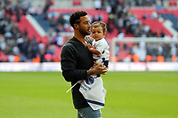 Mousa Dembélé of Tottenham Hotspurwalks around the pitch after Tottenham Hotspur vs Leicester City, Premier League Football at Wembley Stadium on 13th May 2018
