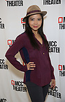 """Catherine Ricafort attends the Photo Call for the MCC Theater's World Premiere production of """"Alice by Heart"""" at the New 42nd Street Studios on December 17, 2018 in New York City."""