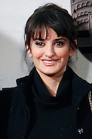 Spanish actress Penelope Cruz, wearing a Chanel Vintage dress, attends 'Venuto Al Mondo' (Volver A Nacer) premiere at Capitol cinema. January 10, 2013. (ALTERPHOTOS/Caro Marin) /NortePhoto