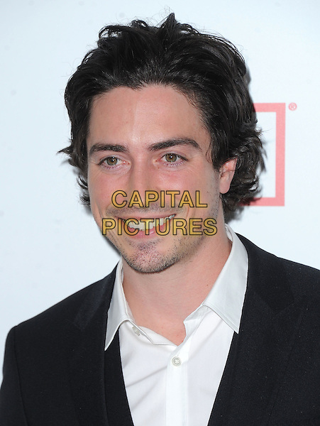 "Ben Feldman.""Mad Men"" Season Six Los Angeles Premiere held at the Director's Guild of America, West Hollywood, California, USA.     .March 20th, 2013.headshot portrait black white shirt .CAP/DVS.©DVS/Capital Pictures."