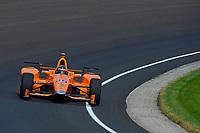 Verizon IndyCar Series<br /> Indianapolis 500 Carb Day<br /> Indianapolis Motor Speedway, Indianapolis, IN USA<br /> Friday 26 May 2017<br /> Fernando Alonso, McLaren-Honda-Andretti Honda<br /> World Copyright: F. Peirce Williams