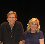 """Guiding Light's Grant Aleksander poses with Tina Sloan as they star in """"Breathing Under Dirt"""" - full play which had its world premier on August 13 and 14, 2016 at the Ella Fitzgerald Performing Arts Center, University of Maryland Eastern Shore, Princess Anne, Maryland  (Photo by Sue Coflin/Max Photos)"""