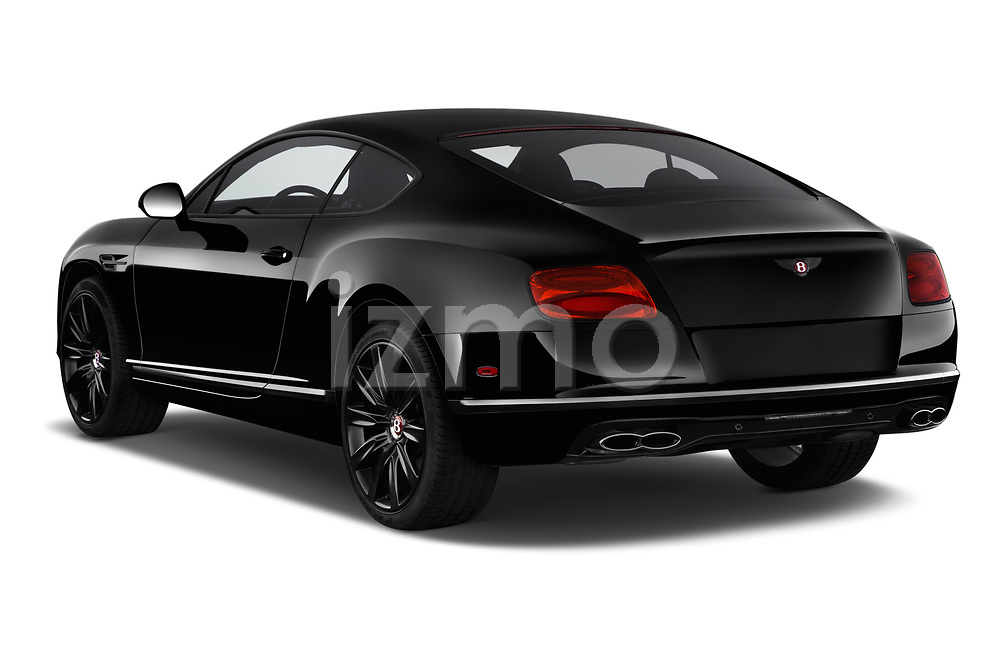 Car pictures of rear three quarter view of 2017 Bentley Continental-GT V8 3 Door Coupe Angular Rear
