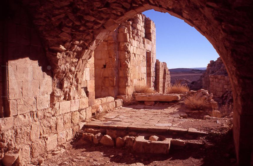 Shobak Crusader Fortress. Jordan. The Middle East