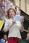 """Broadway Barks Lucky 13th Annual Adopt-a-thon - A """"Pawpular"""" Star-studded dog and cat adopt-a-thon on July 9, 2011 in Shubert Alley, New York City, New York with  Mary Tyler Moore as one of the hosts.  (Photo by Sue Coflin/Max Photos)"""