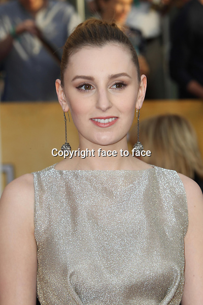 LOS ANGELES, CA - JANUARY 18: Laura Carmichael attending the 2014 SAG Awards in Los Angeles, California on January 18, 2014.<br /> Credit: RTNUPA/MediaPunch<br /> Credit: MediaPunch/face to face<br /> - Germany, Austria, Switzerland, Eastern Europe, Australia, UK, USA, Taiwan, Singapore, China, Malaysia, Thailand, Sweden, Estonia, Latvia and Lithuania rights only -