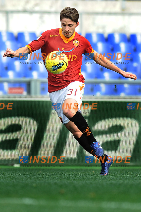 Fabio Borini (Roma).Roma, 19/02/2012 Stadio Olimpico.Football Calcio 2011/2012 .Roma vs Parma 1-0.Campionato di calcio Serie A.Foto Insidefoto Antonietta Baldassarre