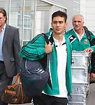 Rapid Vienna's U-21 star Veli Kavlak arrives in Glasgow