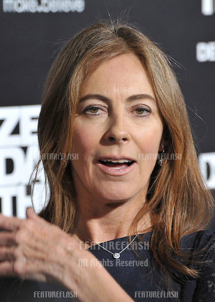 """Director Kathryn Bigelow at the premiere of her movie """"Zero Dark Thirty"""" at the Dolby Theatre, Hollywood..December 10, 2012  Los Angeles, CA.Picture: Paul Smith / Featureflash"""