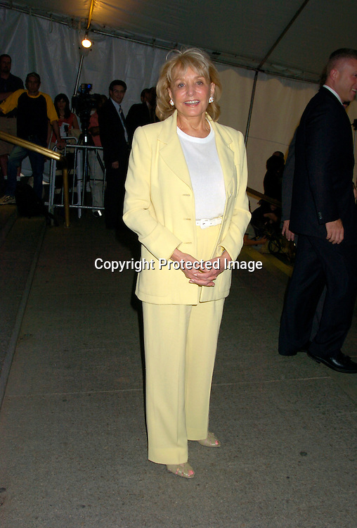 "Barbara Walters..at the Book party for Bill Clinton's autobiography titled "" My Life "" on June 21, 2004 at the Metorpolitan Museum of Art in New York City. ..Photo by Robin Platzer, Twin Images"