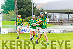 Sean Dowling Kilmoyley in action against  Ballyduff in the County Senior Hurling Final at Austin Stack Park on Sunday.