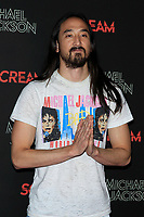 LOS ANGELES - OCT 24: Steve Aoki at The Estate of Michael Jackson and Sony Music present Michael Jackson Scream Halloween Takeover at TCL Chinese Theatre IMAX on October 24, 2017 in Los Angeles, California