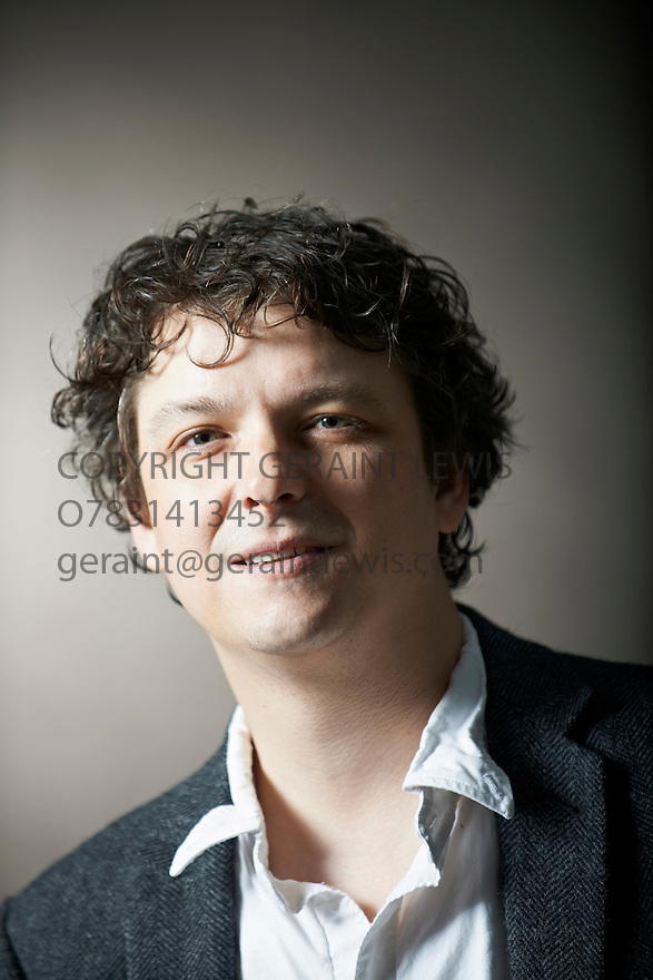 Donovan Hohn  writer of Moby Dick  at The Edinburgh International Book Festival   . Credit Geraint Lewis