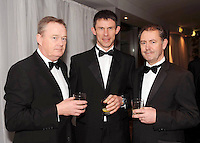Michael Cunningham, Tadhg Lynch and John Mooney, Edward Dillon & Co,  at the Irish Hotels Federation Conference Gala Dinner in The Malton Hotel, Killarney on Tuesday night. Picture: MacMonagle, Killarney