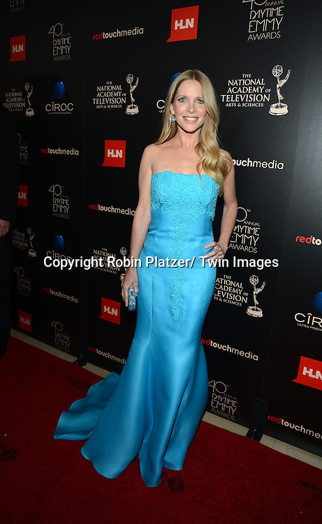 Lauralee Bell attends The 40th Annual Daytime Emmy Awards on<br />  June 16, 2013 at the Beverly Hilton Hotel in Beverly Hills, California.