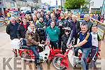 A great turnout for the Honda 50 run from Cahersiveen on Saturday in aid of The Arch Club raising €750 for the charity.