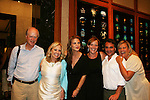 Tina Sloan & hubby Steve, Gina Tognoni, Orlagh Cassidy & hubby Nico & Kim Zimmer at the Goodbye to Guiding Light, 72 Years Young on August 19, 2009 at the Paley Center for Media, NYC, NY. (Photo by Sue Coflin/Max Photos)