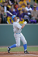 June 5, 2010: Blair Dunlap of UCLA during NCAA Regional game against LSU at Jackie Robinson Stadium in Los Angeles,CA.  Photo by Larry Goren/Four Seam Images