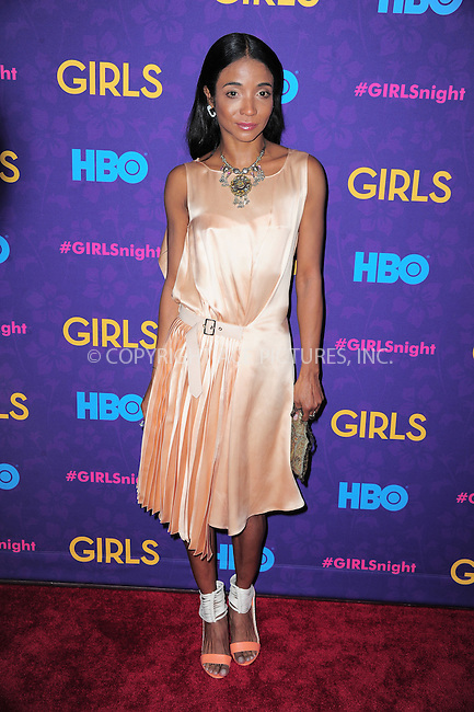 WWW.ACEPIXS.COM<br /> <br /> <br /> January 6, 2014, New York City, NY.<br /> <br /> <br /> Genevieve Jones arriving at the 'Girls' Season 3 Premiere at Jazz at Lincoln Center on January 6, 2014 in NEw York City, NY.<br /> <br /> <br /> <br /> <br /> By Line:  William Bernard/ACE Pictures<br /> <br /> ACE Pictures, Inc<br /> Tel: 646 769 0430<br /> Email: info@acepixs.com